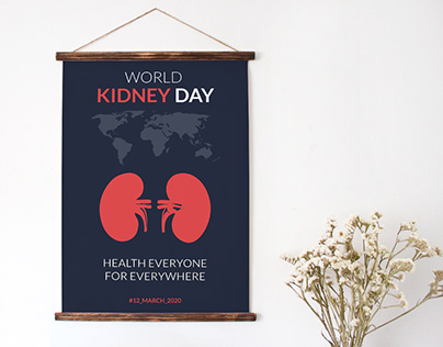 Wold Kidney Day 2020 Poster Design
