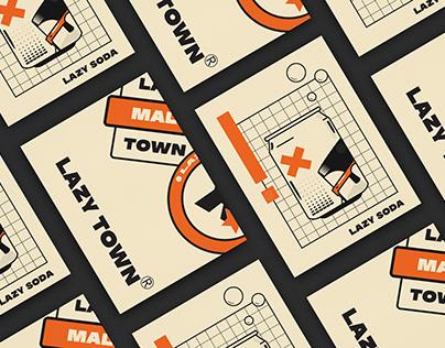 Lazy town prints