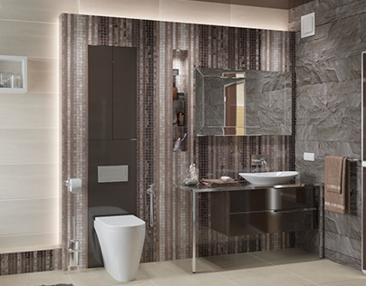 Bathroom | Design and 3d-visualization