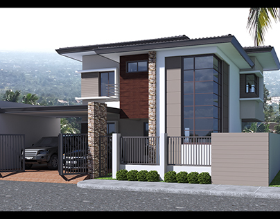 J.Tuazon Project (2-Storey Residential Building)