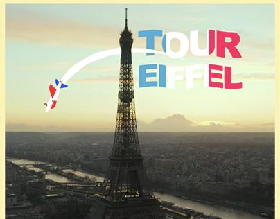 Animation Paris (Projet de cours)