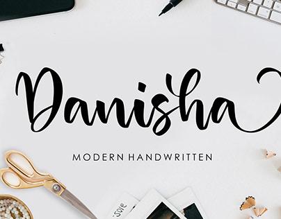 Danisha Modern Handwritten Font