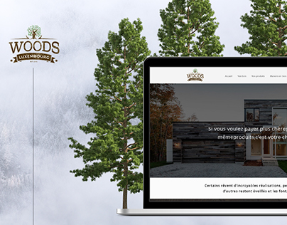 WebSite & Branding Woods - Luxembourg