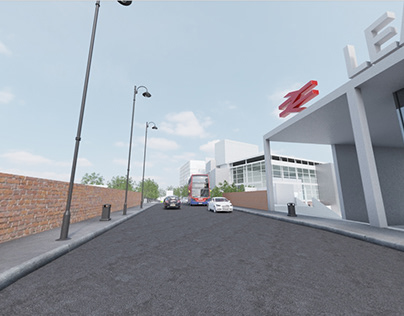 Lea Bridge redevelopment area - Gear VR