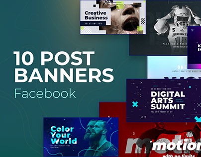 Facebook Post Banners v4