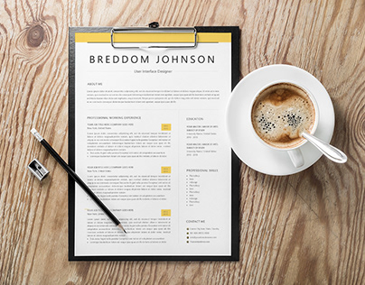 Free Two Pages Word Resume Template