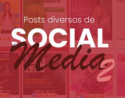 Social Media Diversos - parte 2