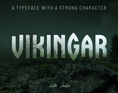 SMOKEY FOREST Display Font