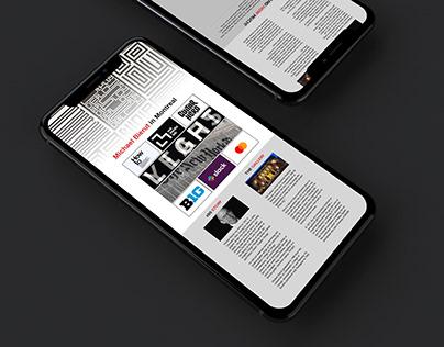 Newsletter - HTML5//CSS3