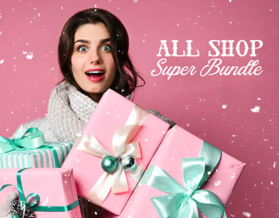 All Shop Super Bundle: 7 amazing design deals