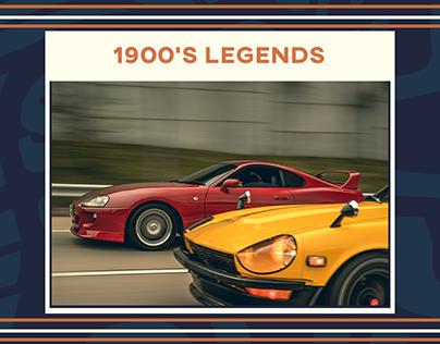 1900's Legends