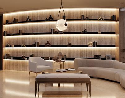 Guest living room Dubai