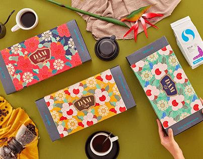 SHIN Cà Phê | Đậm Gift Box Packaging Design