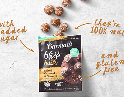Carmans - Bliss balls