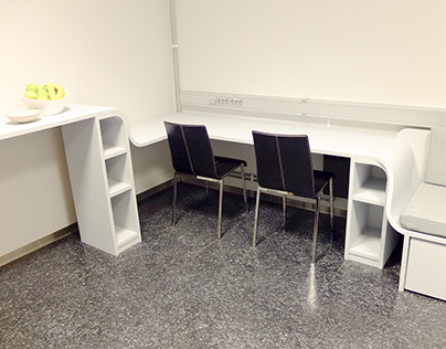 Office and relax space at Elexia