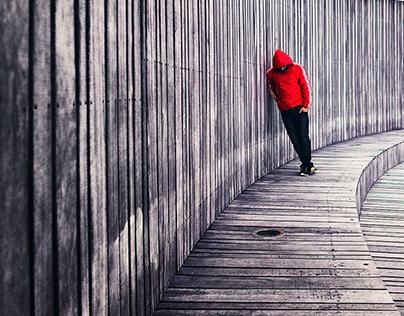 Red Hoodie Series