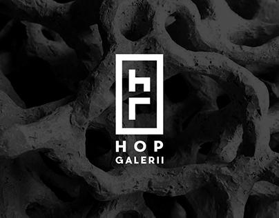 Brand Identity for 'Hop Galerii'