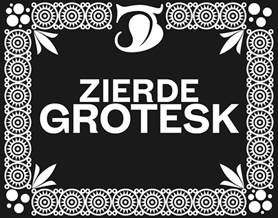 Zierde Grotesk | Commercial Type Family