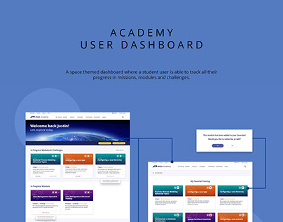User Dashboard and Search