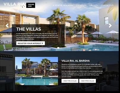 VILLA RIA - DUBAI GOVT. PROJECT