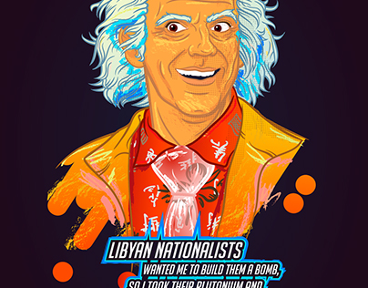 Free Fan Art Back to The Future with Doctor