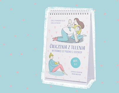 "Illustrations for book ""Ćwiczenia z tulenia ..."""