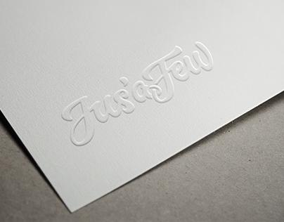 Jus' a Few - Logo Design