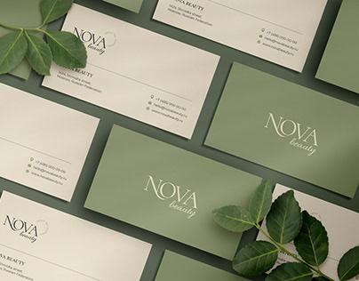 Nova Beauty Salon   Logotype & Branding