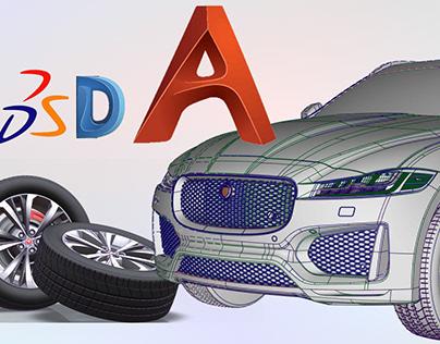 Jaguar F-pace Alias/dynamo/catia Tutorial- breakdown