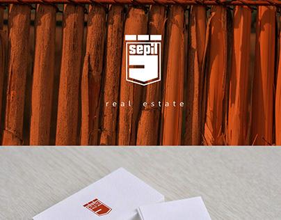 Sepil Real Estate logo project