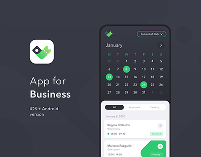 Reservato for Business ~ Mobile App