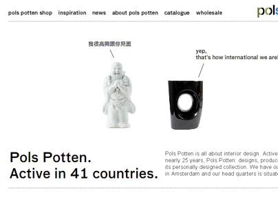 Pols Potten website