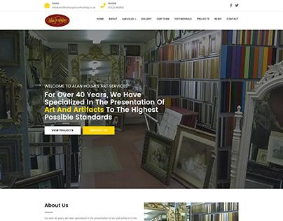 Alan Holmes Art Services
