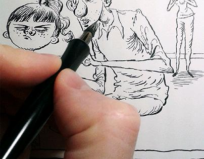 Drawing real kids