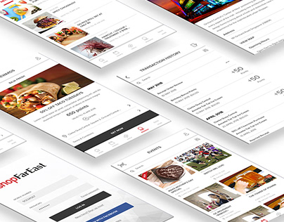 ShopFarEast Mobile App Design
