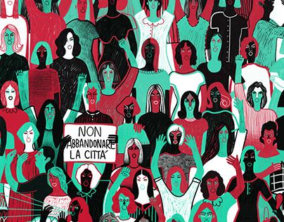 7 Luglio 1944 La rivolta delle donne carrarine
