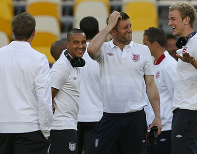 Product Placement - England Football Team 2012