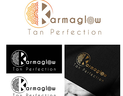 Branding KarmaGlow Tanning Center
