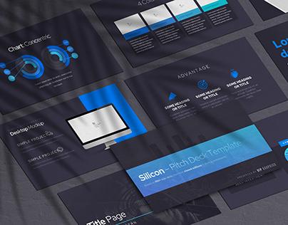 Silicon – Pitch Deck Presentation Template