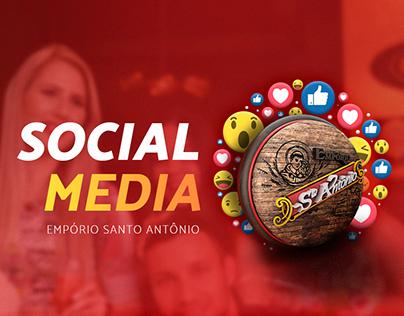 Social media Empório Santo Antônio
