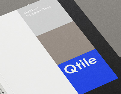 Qtile Porcelain Tiles Brand Design