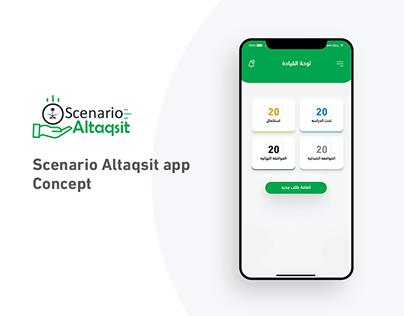 Scenario Altaqsit app Concept