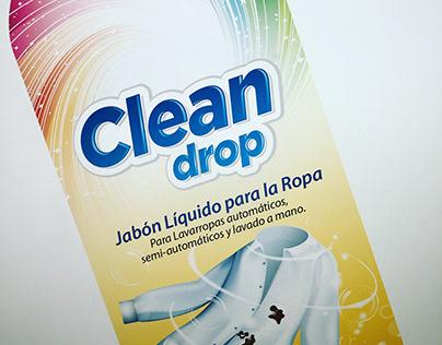 Clean Drop jabón líquido para la ropa