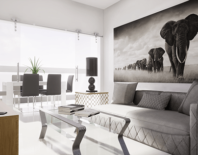 Tour Virtual em Apartamento 4 quartos - AlphaVirtual.