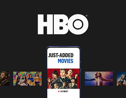 HBO — new website