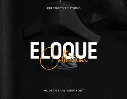 Eloque Typeface