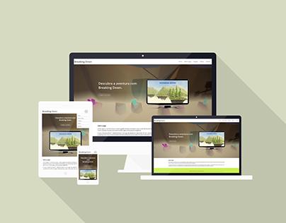 Web Site - Breaking Down