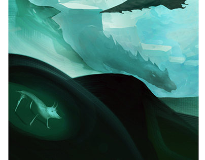 dragon land fantasy art world