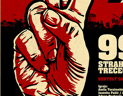 """""""99% - Fear and Misery of the Third Reich"""" Theater play"""