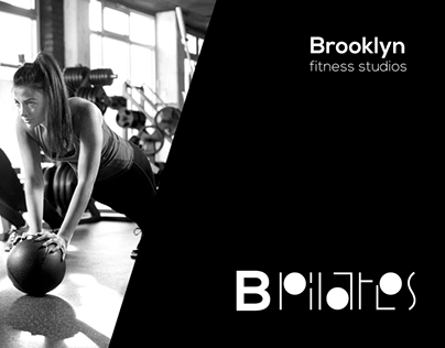 B Pilates Brooklyn fitness studios visual identity